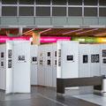 Blick in die Ausstellung Flughafen Dresden