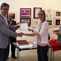 1. Platz an Fotoclub Saarwellingen - überreicht an Sabrina Doerr