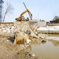 Ufersicherung Stadlerwehr