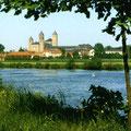 ... in der Benediktiner-Abtei Münsterschwarzach bei Würzburg