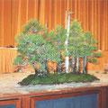 der gestaltete Wald von der japanischen Gruppe