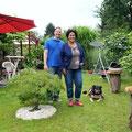 Auch die RP hat unseren Garten besucht, hier das Pressefoto