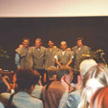 die europäische Gruppe mit Serge Clemence, Walter Pall, Salvatore Liporace, Angel Mota und Francois Jeker