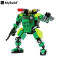 MyBuild Mecha Frame Series (Green Trooper)