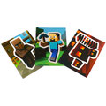 Minecraft Collectible Sticker-Cards