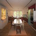 Wohnküche in Kirschbaum