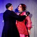 "Regina Riel als ""Pamina"" in ""Die Zauberflöte"" (W.A. Mozart) am Volkstheater Rostock (2014)"