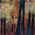 Herbstwald 3, 60x80 cm