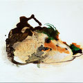 Termitenhügel 2, 34x48 cm