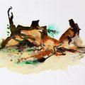 Termitenhügel 1, 34x48 cm
