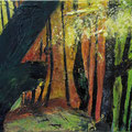 Herbstwald 4, 60x80 cm