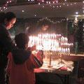 encendido de velas en Januká 2012/5773