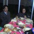 Ing. Ruben su esposa Paty, Rosy Ortiz, Raquel