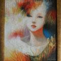 秋の刻(とき)/Ⅱ(非売)/2011 Acrylics gouacheキャンバス