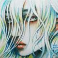 まなざし sold 2013 Acrylics gouacheキャンバスF0
