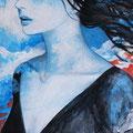 自由(非売)/Acrylics gouacheイラストボード