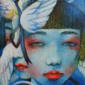 霧の中の夢 2013 Acrylics gouacheキャンバスF0