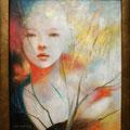 秋の刻(とき)Ⅰ(非売)/2011 Acrylics gouacheキャンバス