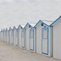 """""""Summertime - Deauville Beach II"""", France"""