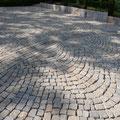 Granit-Kleinpflaster. Privater Bauherr.