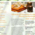 Internetauftritt der Physio Laufamholz (www.physio-laufamholz.de)