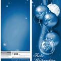 Weihnachtskarte (DinLang, Hochformat, Außenseite) für die Steuerberatung Dr. Dannhorn & Kollegen