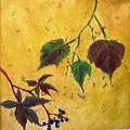 Herbst, 20x20 cm, Öl auf Leinwand, 60 €