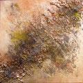 Hajar Wüste, 40x40 cm, Acryl auf Leinwand (verkauft)