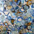 Water Drops, 70x50 cm, Naturfarben auf Leinwand, 380 €