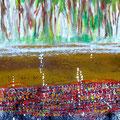 Wachstum, Acryl auf Leinwand, 60x30 cm, 220 €