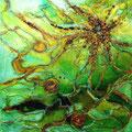 Jungle, 50x50 cm, Acryl auf Leinwand, 250 €