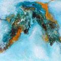 Libelleninsel, 30x40x4 cm, Acryl auf Leinwand, 180 €