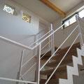 ちょっとだけ複雑な階段です