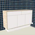 Projet de meuble de salle de bains (Rambouillet 78)