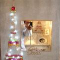 """Funny Eiffel"" miroir 60x80 gold"