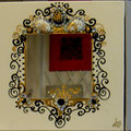 "Miroirs"" Empire"" 3x40x40"