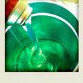 塗料剥がし液 奇麗な色
