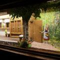 Rotkäppchen Diorama im Brüder Grimm-Haus