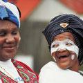Frauen aus dem Volk der Xhosa
