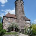Die Burg Ludwigstein.