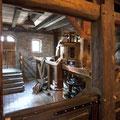 Die Krabat-Mühle - Innenansicht