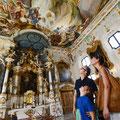 Impressionen aus Ingolstadt: Asamkirche Maria de Victoria