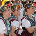 Sorbische Mädchen in Tanztracht