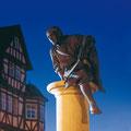 Lohberger Statue, © Archiv Stadt Melsungen
