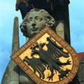 Der Bremer Roland, das Wahrzeichen Stadt für ihre Freiheit und Unabhängikeit.