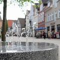 Wasserspiel in der Fußgängerzone © Oliver Siekmann/Staatsbad Salzuflen