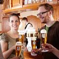 Impressionen von den Bier-Erlebniswelten