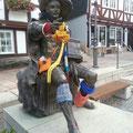 Statue in Homberg, © Tourist-Info Homberg