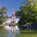 Schloss Philippsruhe - Rückseite