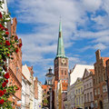 Lübeck: Engelsgrube / St. Jakobi © shutterstock
